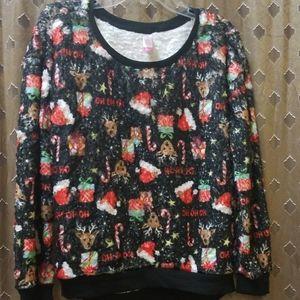 NWT Christmas Teen Sweatshirts